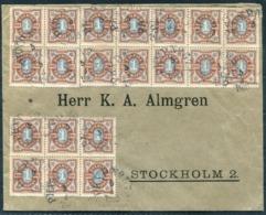 1905 Sweden PKXP Railway TPO Cover - Stockholm - Sweden