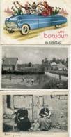 19 Correze   3  CP  Diverses   3  écrites  Envoi Gratuit - France