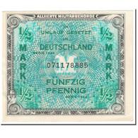 Billet, Allemagne, 1/2 Mark, 1944, SERIE DE 1944, KM:191a, SUP - [ 5] 1945-1949 : Occupazione Degli Alleati