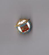 Pin's Armée / Amicale Des Anciens Sous Officiers De Francazal (EGF Doré Signé SNES) Hauteur: 2,5 Cm - Militaria