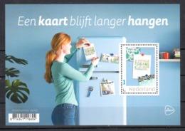 """Nederland 2019 Nvph Nr ?? , Mi Nr ?? , Persoonlijke, """"een Kaart Blijft Langer Hangen"""" PostNL - Unused Stamps"""