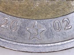 """TRÈS RARE 2 Euros Grecque Grèce Avec Le """"S"""" FINLANDE Sur L'étoile 2002 - Grèce"""