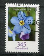 """Germany 2017 Michel Nr.3324 Bogenmarke """"Freimarke,Blumen-Vergissmeinnicht,( Myosotis Sp.)""""1 Wert Used - Pflanzen Und Botanik"""