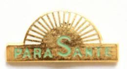 Petit Pin's PARA SANTE - Le Logo - Soleil - Opus - I812 - Geneeskunde