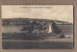 CPA 78 - LE TREMBLAY-sur-MAULDRE - Panorama - TB PLAN D'ensemble Du Village + Route Perspective De L'intérieur - France