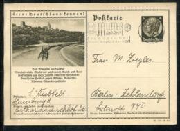 """Deutsches Reich / 1938 / Bildpostkarte """"BAD WIMFEN"""" Masch.-Stempel Hamburg """"Mutter Und Kind"""" (1435) - Deutschland"""