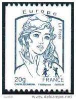 France Marianne De La Jeunesse Par Ciappa Et Kawena N° 4780 ** Gommé,  20 Grammes Roulette Bleu - 2013-... Marianne (Ciappa-Kawena)