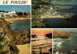 Dep 29 , Cpm LE POULDU En CLOHARS CARNOET , 10180 , Multivues (13009) - Le Pouldu