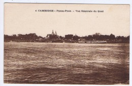CAMBODGE - PNOM-PENH - Vue Générale Du Quai - Kambodscha