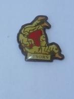 Pin's CLUB DE JUDO DE GISORS B - Judo