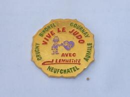 Pin's CLUB DE JUDO J. LEMAITRE, NEUFCHATEL EN BRAY - Judo