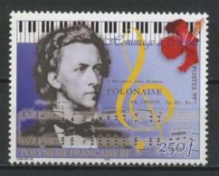 POLYNESIE 1999 N° 603 ** Neuf MNH Superbe C 6.70 € Frédéric Chopin Musique Music - Polynésie Française