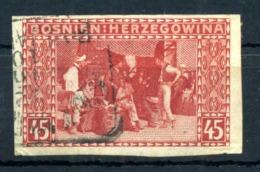 1906 BOSNIA N.40 Imperf. Usato - Eastern Austria
