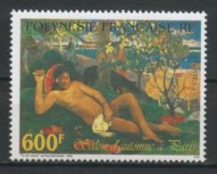 POLYNESIE 1997 N° 553 ** Neuf MNH Superbe C 18,30 € GAUGUIN Peintures Paintings Te Arii Vahine Salon Automne - Polynésie Française