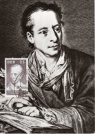 Germany (DDR). Maximum Card. Johann J. Winckelmann (1717-1768), Archaeologist, 1967. - Archäologie
