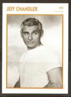 PORTRAIT DE STAR 1955 ÉTATS UNIS USA - ACTEUR JEFF CHANDLER - UNITED STATES USA ACTOR CINEMA FILM PHOTO - Fotos