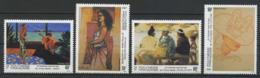POLYNESIE 1993 N° 445/448 ** Neufs MNH Superbes C 8,50 € Peintures Paintings Peintres Tableaux Femmes Vaea Vic - Polynésie Française