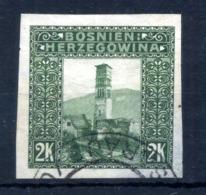 1906 BOSNIA N.43 Imperf. Usato - Eastern Austria