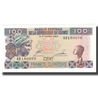 Billet, Guinea, 100 Francs, Undated (1998), KM:35a, NEUF - Guinée