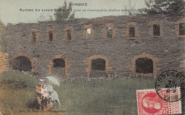 CONQUE  -  Ruine Du Vieux Chateau  ( Animée , Couple Et Enfant ) - Herbeumont