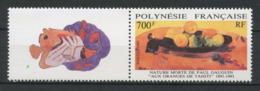POLYNESIE 1991 N° 385 ** Neuf MNH Superbe C 21,50 € Paul Gauguin Tahiti Poissons Oranges Fruits Peintures - Polynésie Française