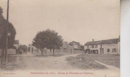 CHENNEVIERES   ROUTES DE PIERRELAYE ET D HERBLAY - Chennevieres Sur Marne