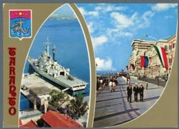°°° Cartolina - Taranto Vedute Viaggiata °°° - Taranto