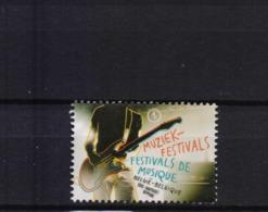 BELGIUM 2013music Festivals MNH** 4357 - Music