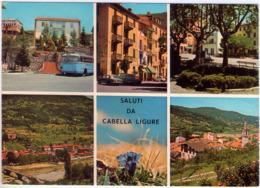 Saluti Da Cabella Ligure. (Al). Multivisione.. VG. - Alessandria