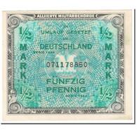 Billet, Allemagne, 1/2 Mark, 1944, SERIE DE 1944, KM:191a, SUP - [ 5] Ocupación De Los Aliados
