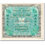 Billet, Allemagne, 1/2 Mark, 1944, SERIE DE 1944, KM:191a, SUP - 1945-1949: Alliierte Besatzung