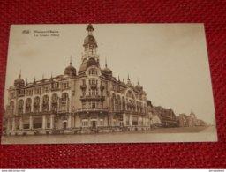 NIEUWPOORT  - NIEUPORT -  Le Grand Hôtel - Nieuwpoort