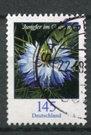 """Germany 2018 Mi.Nr.3351 Bogenmarke """"Freimarke,Blumen-Jungfer Im Grünen (Nigella Damascena)""""1 Wert Used - Pflanzen Und Botanik"""