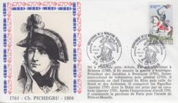 Enveloppe  FRANCE   PICHEGRU   Bicentenaire  De  La   REVOLUTION    ARBOIS   1989 - Franz. Revolution