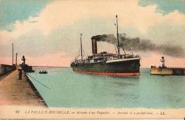 17 - LA PALLICE-ROCHELLE - ARRIVÉE D'UN PAQUEBOT - La Rochelle