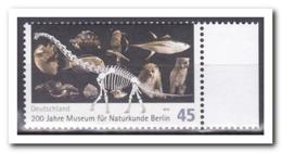 Duitsland 2010, MNH Postfris, MI 2775, 200 Years Museum Of Natural History, Berlin - [7] République Fédérale