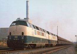 Diesellok 221 123-3 + 221 115-9 In Duisburg-Hochfeld, Ungelaufen - Trains