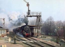 Dampflok 58 1111 Bei Der Durchfahrt In Wiesenburg, Ungelaufen - Eisenbahnen