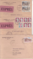 3 Lettres Maison Wendel SA Hayange 1962 - 1969 - Covers & Documents