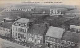 59 - BOLLEZEELE : Vue Générale De La Gare - CPA Village ( 1.440 Habitants ) - Nord - Autres Communes