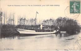 77 - LIZY Sur OURCQ : Yacht De Plaisance à L'ILE De TANCROU - CPA Village ( 3.600 Habitants ) Seine Et Marne - Lizy Sur Ourcq