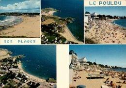 Dep 29 , Cpm Le POULDU , Ses Plages , MX 4503 , Multivues (13021) - Le Pouldu