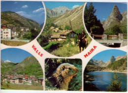 Valle Maira (Cn). Multivisione. VG (1) Venatura Angolo Superiore Sx - Cuneo
