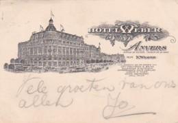 185932Anvers, Hotel Weber (zie Hoeken En Randen) - Antwerpen