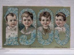 Bonne Année. Gaufree. 1906 - New Year