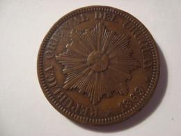 MONNAIE URUGUAY 4 CENTIMOS 1869 - Uruguay