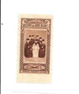 KB899 - VIGNETTE MISSION DES PERES BLANCS - SEMINARISTE DE JERUSALEM - Erinnophilie