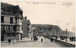 76 FECAMP - Le Boulevard Des Belges - Fécamp