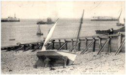 76 LE HAVRE - La Grève Et La Nouvelle Entrée Du Port - Le Havre