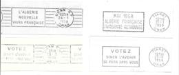 KB902 - FLAMMES POLITIQUES  ALGERIE FRANCAISE - Algerien (1924-1962)